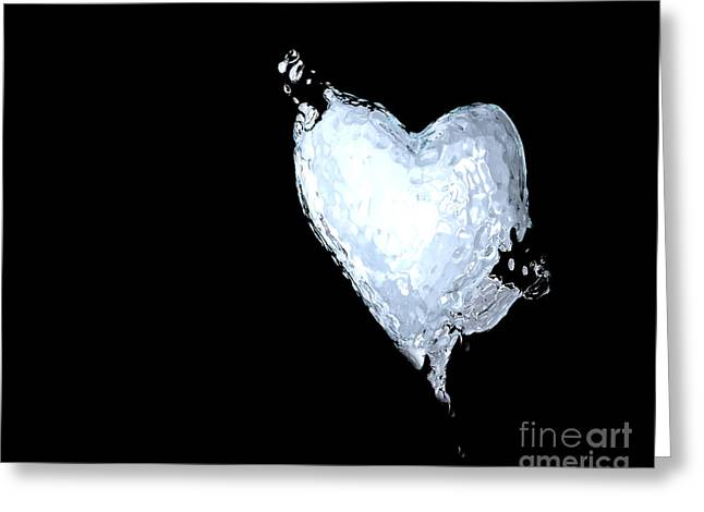 Puddle Greeting Cards - You Melted My Heart Greeting Card by Cheryl Young