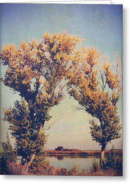 Yellow Leaves Greeting Cards - You Were Meant For Me Greeting Card by Laurie Search