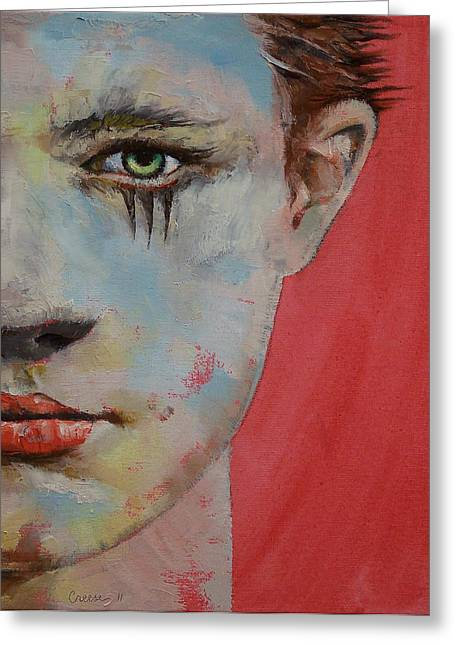 Anime Greeting Cards - Young Mercury Greeting Card by Michael Creese