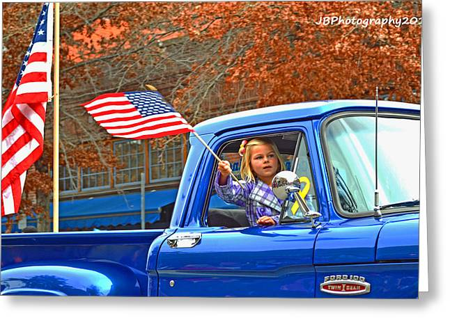 Young Pride Greeting Card by Jacy Brooks