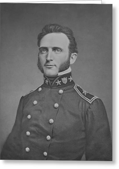 Stonewall Jackson Greeting Cards - Young Stonewall Jackson  Greeting Card by War Is Hell Store
