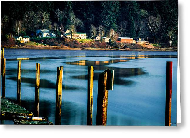 S Landscape Photography Greeting Cards - Youngs River Settlement 1 Greeting Card by Paul Haist