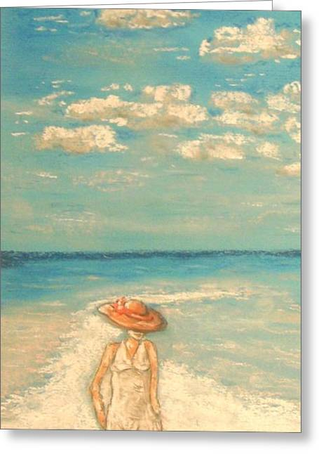 Coastline Pastels Greeting Cards - Your Kiss Greeting Card by The Beach  Dreamer