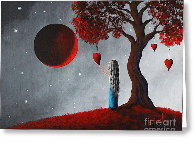 Recently Sold -  - Popular Art Greeting Cards - Your Love Lives On by Shawna Erback Greeting Card by Shawna Erback