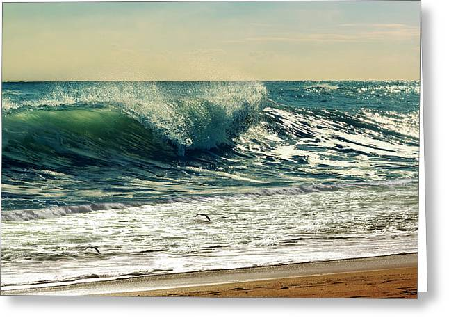Surfer Art Greeting Cards - Your Moment Of Perfection Greeting Card by Laura  Fasulo