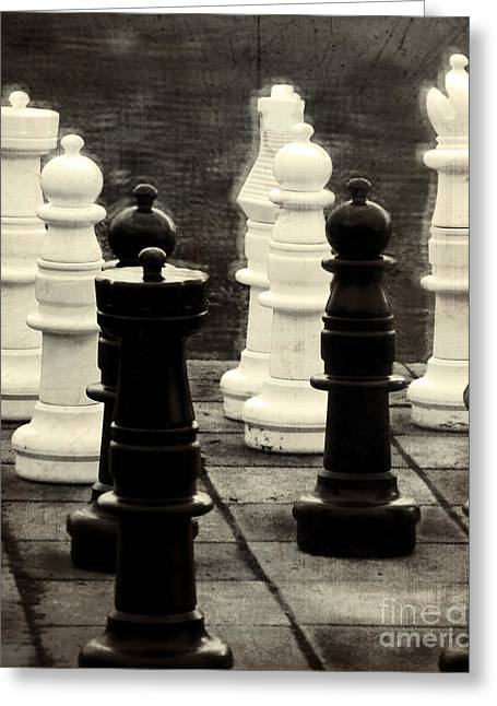 Chess Rook Greeting Cards - Your Move Greeting Card by Colleen Kammerer