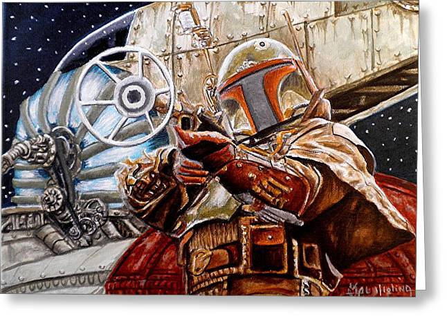 Slaves Greeting Cards - Youre no good to me Dead Greeting Card by Al  Molina