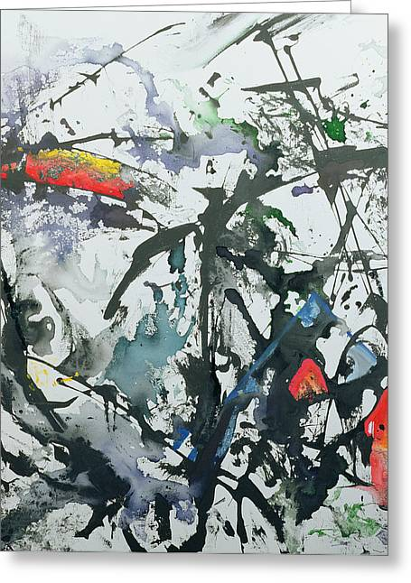 Drip Paintings Greeting Cards - Youre So Different Greeting Card by Thomas Hampton