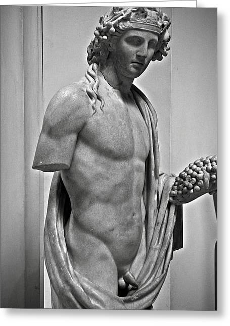 Greek Sculpture Greeting Cards - Youthful Dionysus Greeting Card by RicardMN Photography