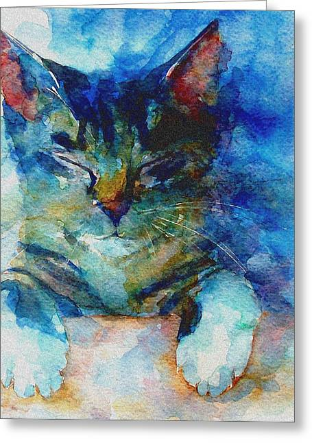 Whiskers Greeting Cards - Youve Got A Friend Greeting Card by Paul Lovering