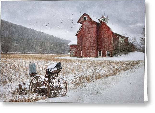 Barn Digital Greeting Cards - Youve Got Mail Greeting Card by Lori Deiter