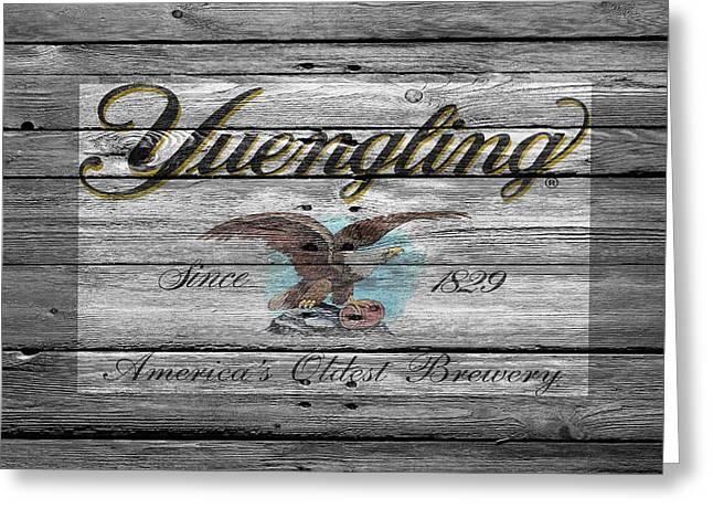Saloons Greeting Cards - Yuengling Greeting Card by Joe Hamilton