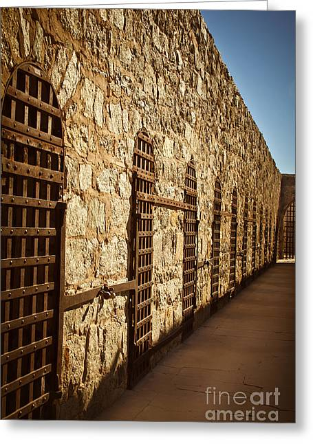 Old West Photography Greeting Cards - Yuma Territorial Prison Greeting Card by Robert Bales