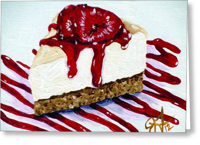 Favorite Treat Greeting Cards - Yumminess Greeting Card by Jackie Carpenter