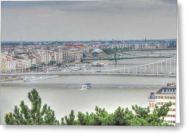 People Pyrography Greeting Cards - YURY BASHKIN  Budapesht  Hungary Greeting Card by Yury Bashkin