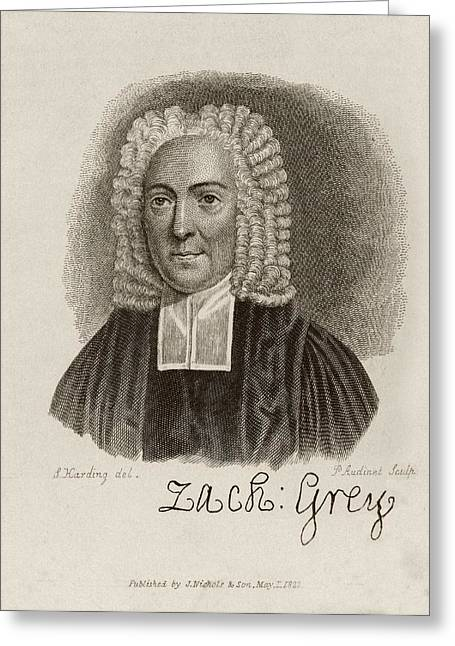 Zacharey Grey Greeting Card by Middle Temple Library
