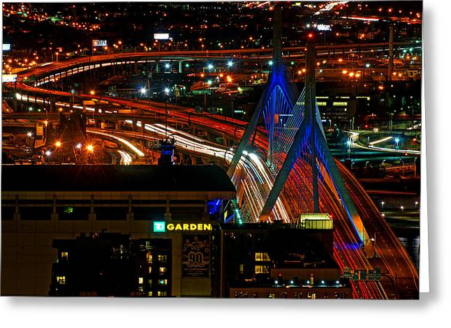 Td Bank Garden Greeting Cards - Zamim Bridge 05 Greeting Card by Jeff Stallard
