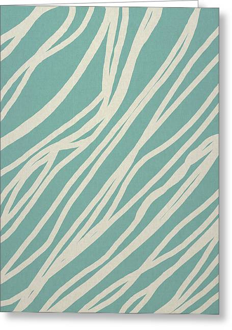 Art Decor Greeting Cards - Zebra Greeting Card by Aged Pixel
