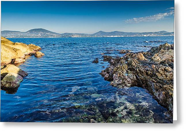 St.tropez Greeting Cards - Zen Greeting Card by Christian Baumgart