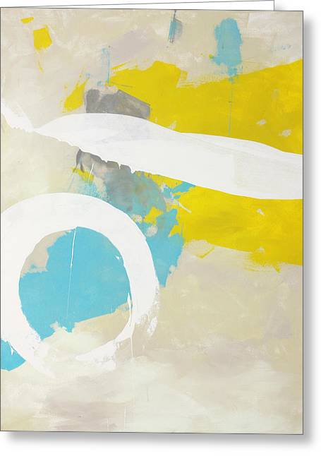 Abstract Expressionist Greeting Cards - Zero Sum  c2012 Greeting Card by Paul Ashby