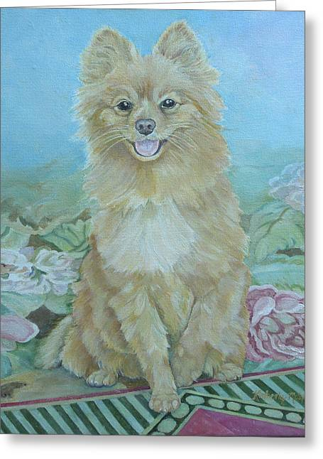 Toy Dog Greeting Cards - Zeus Greeting Card by Kimberly McSparran