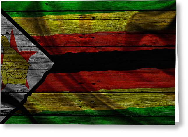 Zimbabwe Photographs Greeting Cards - Zimbabwe Greeting Card by Joe Hamilton
