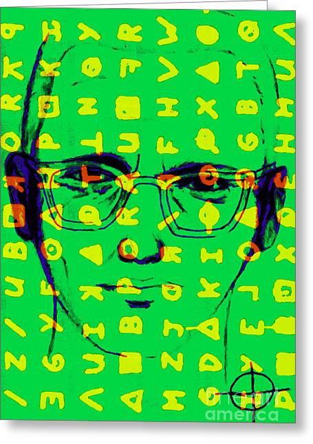 Lake Berryessa Greeting Cards - Zodiac Killer With Code and SIgn 20130213 Greeting Card by Wingsdomain Art and Photography