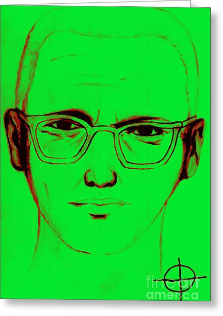 Lake Berryessa Greeting Cards - Zodiac Killer With SIgn 20130213 Greeting Card by Wingsdomain Art and Photography