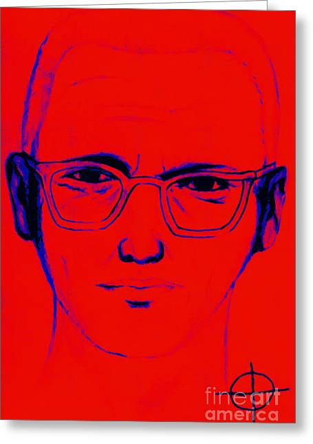 Lake Berryessa Greeting Cards - Zodiac Killer With SIgn 20130213m128 Greeting Card by Wingsdomain Art and Photography