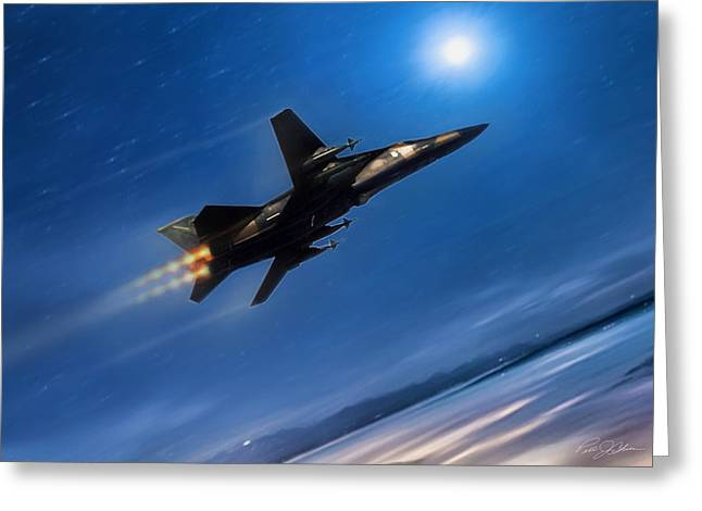 Interceptor Greeting Cards - Zone 5 El Dorado Canyon Greeting Card by Peter Chilelli