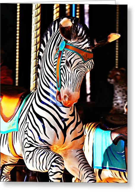 Zoo Animals 3 Greeting Card by Marty Koch