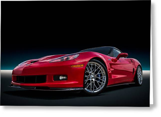 Reds Greeting Cards - Zr1 Greeting Card by Douglas Pittman