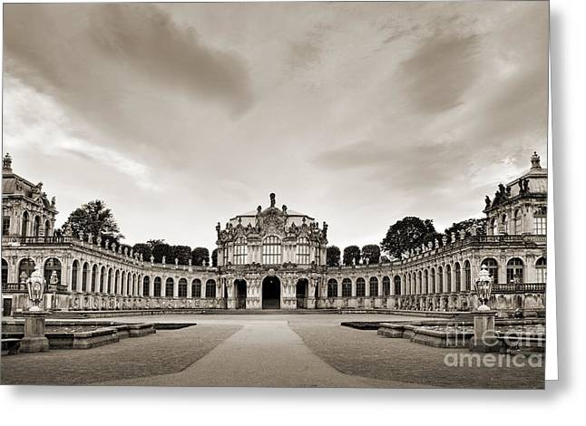 Dresden Greeting Cards - Zwinger Palace Greeting Card by Delphimages Photo Creations