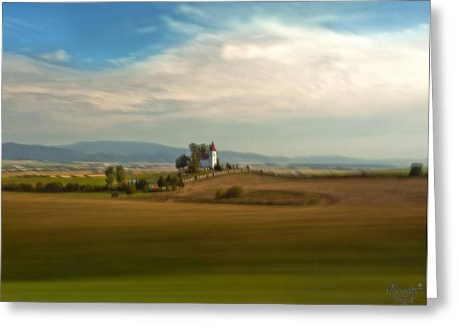 Renata Vogl Greeting Cards -  all about slovakia II. Greeting Card by Renata Vogl