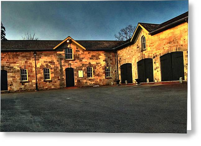 Dundurn Castle Greeting Cards -  Dundurn Castle Coach House Greeting Card by Larry Simanzik