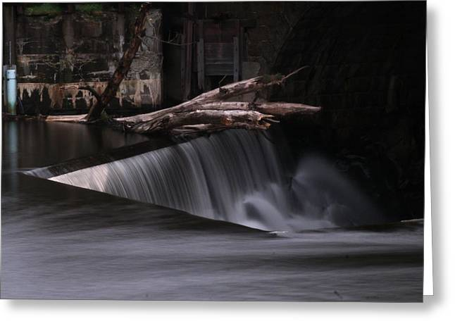 Blackstone River Greeting Cards -  On the Edge Greeting Card by Barry Doherty