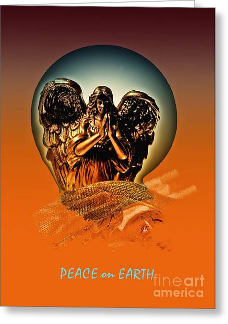 Gerlinde-keating Greeting Cards -  Peace on Earth Greeting Card by Gerlinde Keating - Keating Associates Inc