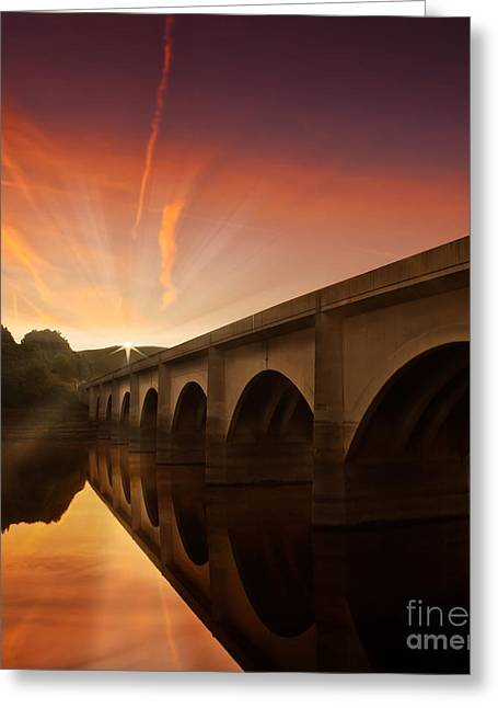 Win Greeting Cards -  Peaceful Valley Greeting Card by Nigel Hatton