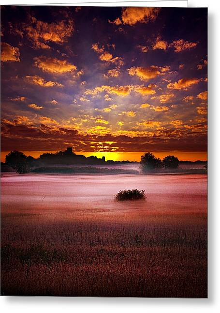 Twilight Greeting Cards -  Quiescent  Greeting Card by Phil Koch