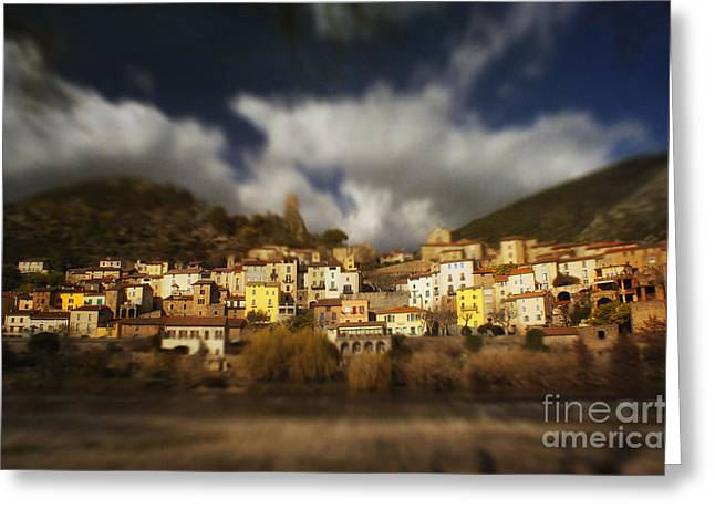 Roquebrun Greeting Cards -  Roquebrun Greeting Card by Paul Grand