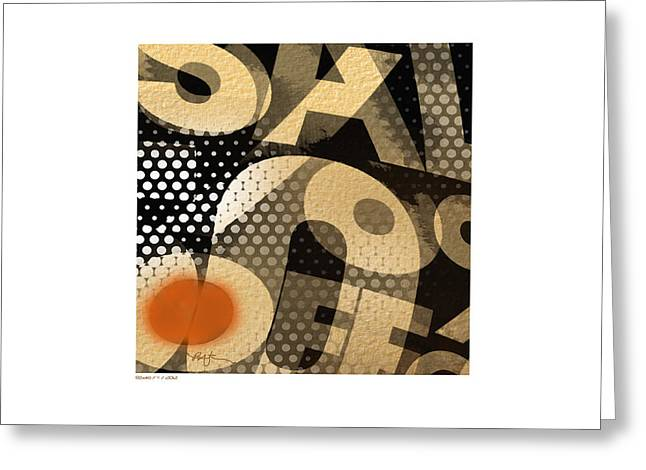 Graphics Mixed Media Greeting Cards - - Sax5th - Greeting Card by Bob Salo