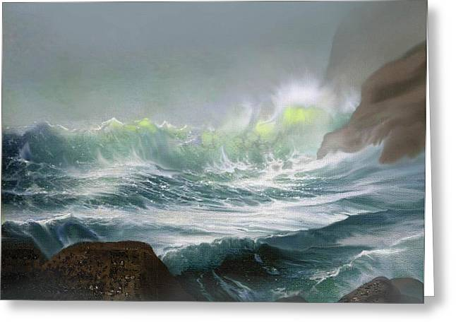 Storm Prints Greeting Cards -  Seaswell Greeting Card by Robert Foster