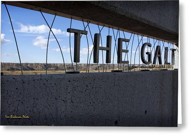 Galt Greeting Cards -  The Galt Museum Greeting Card by Tom Buchanan