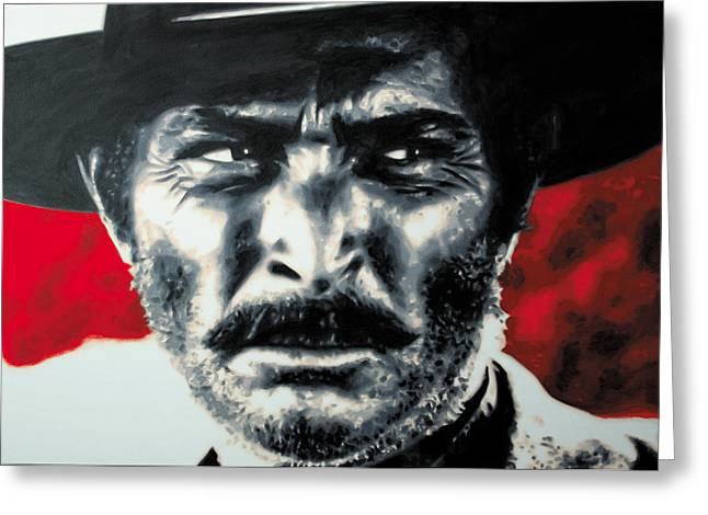 The Good The Bad Greeting Cards - - The Good The Bad and The Ugly - Greeting Card by Luis Ludzska