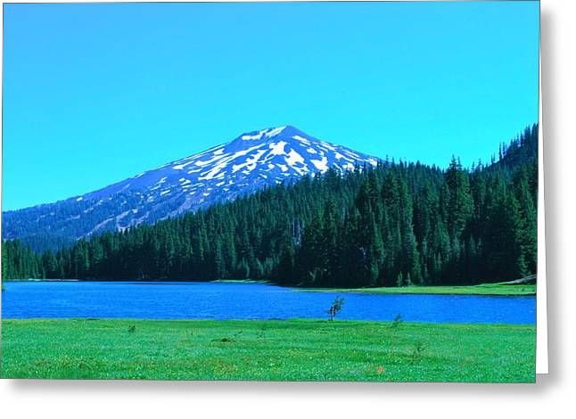 Mt. Bachelor Greeting Cards -  Todd  Lake in Central Oregon Greeting Card by Dorota Nowak