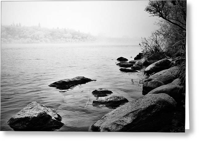 Edmonton Photographer Greeting Cards -  Whispering Docks Greeting Card by Jerry Cordeiro