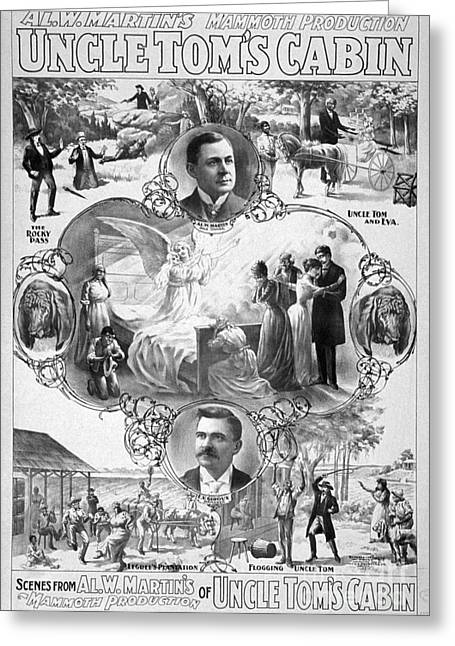 Uncle Tom Greeting Cards - UNCLE TOMS CABIN, c1899 Greeting Card by Granger