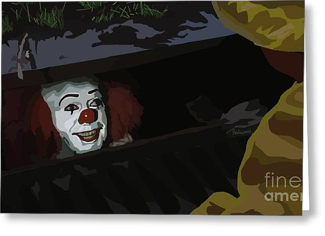 Tamify Greeting Cards - 036. They All Float Down Here Greeting Card by Tam Hazlewood