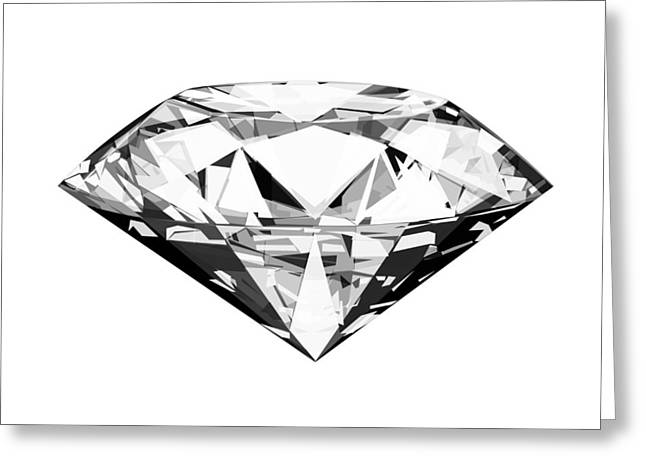 diamond Greeting Card by Setsiri Silapasuwanchai