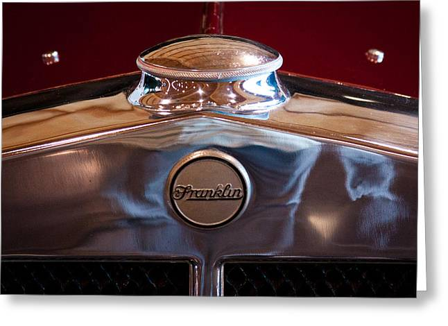 1929 Franklin Model 130 2-door Coupe Greeting Card by David Patterson